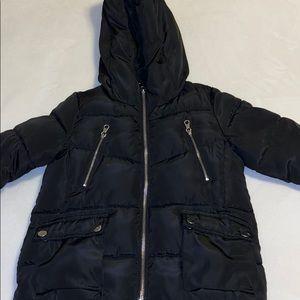 ZARA girls puffer coat